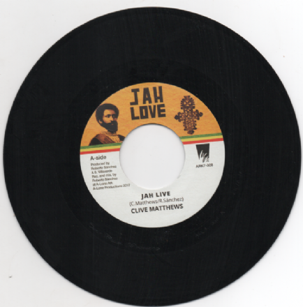 Clive Matthews - Jah Live / Lone Ark Riddim Force - Wadada Version (Jah Love) 7""